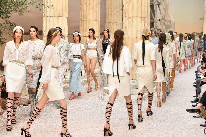Коллекция 2018 Карла Лагерфельда для Chanel