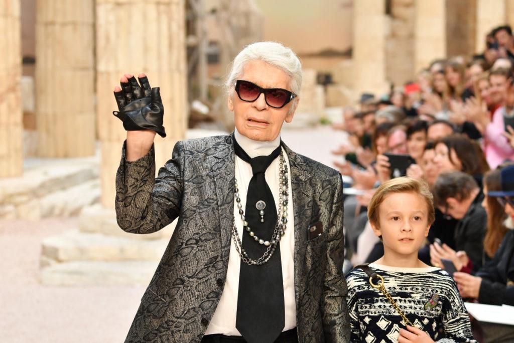 Карл Лагерфельд, показ Chanel