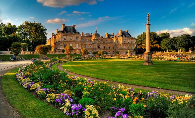 Люксембургский сад, 6-ой округ Парижа