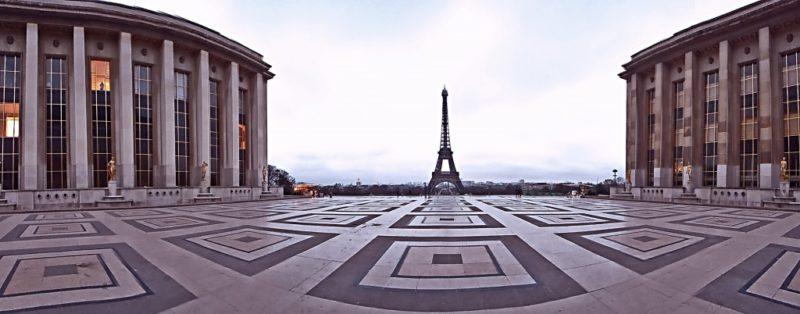 Площадь Трокадеро, 16-й округ Парижа