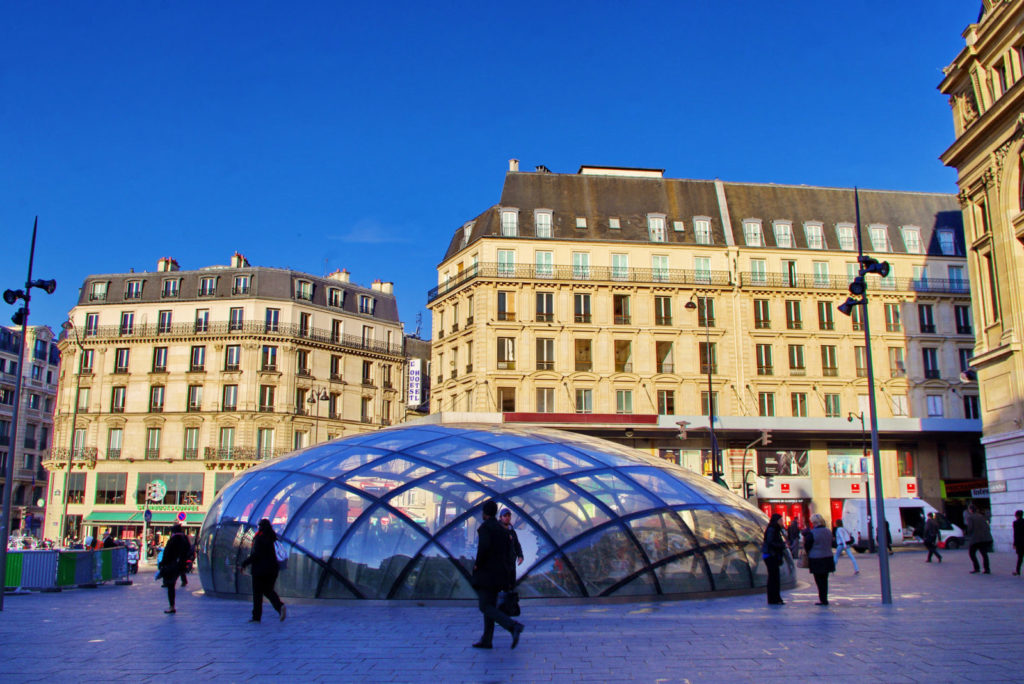 Вокзал Сен-Лазар Gare Saint-Lazare