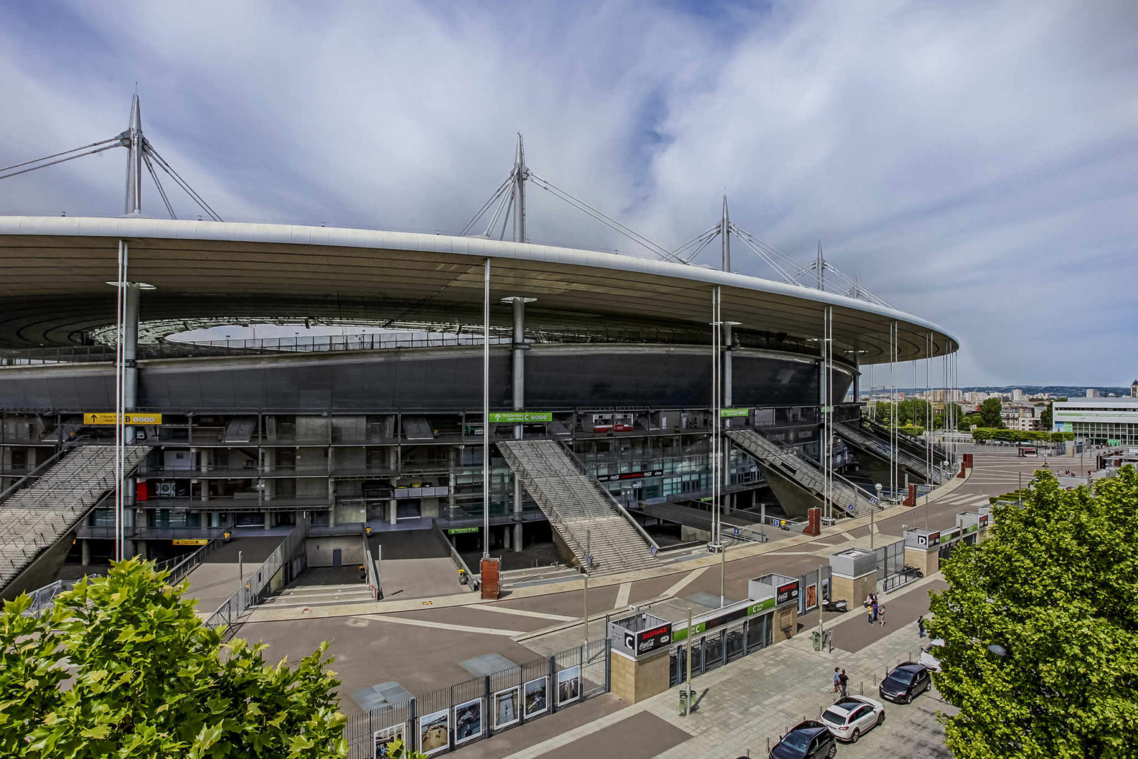 Stade de France в Сен-Дени