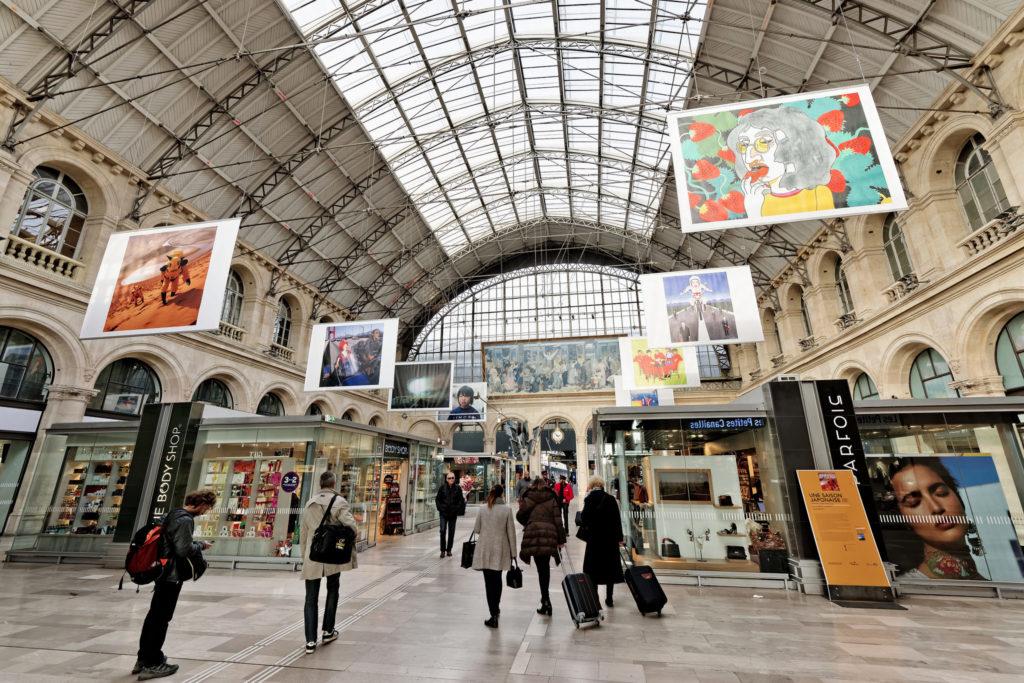 Восточный вокзал Париж Gare de l'Est