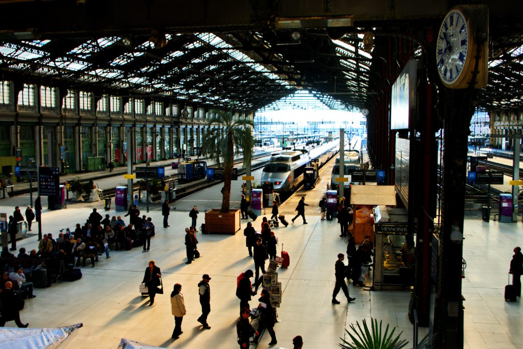 Лионский вокзал в Париже как добраться
