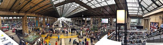 Северный вокзал Парижа (Gare du Nord Paris)