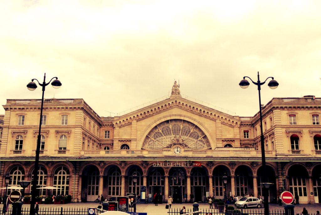 Восточный вокзал Париж