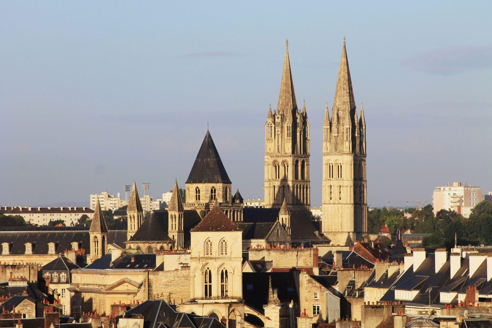 Город Кан, Франция