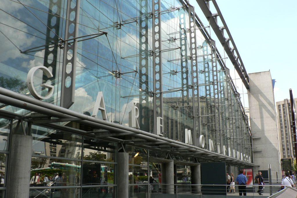 Вокзал Монпарнас в Париже