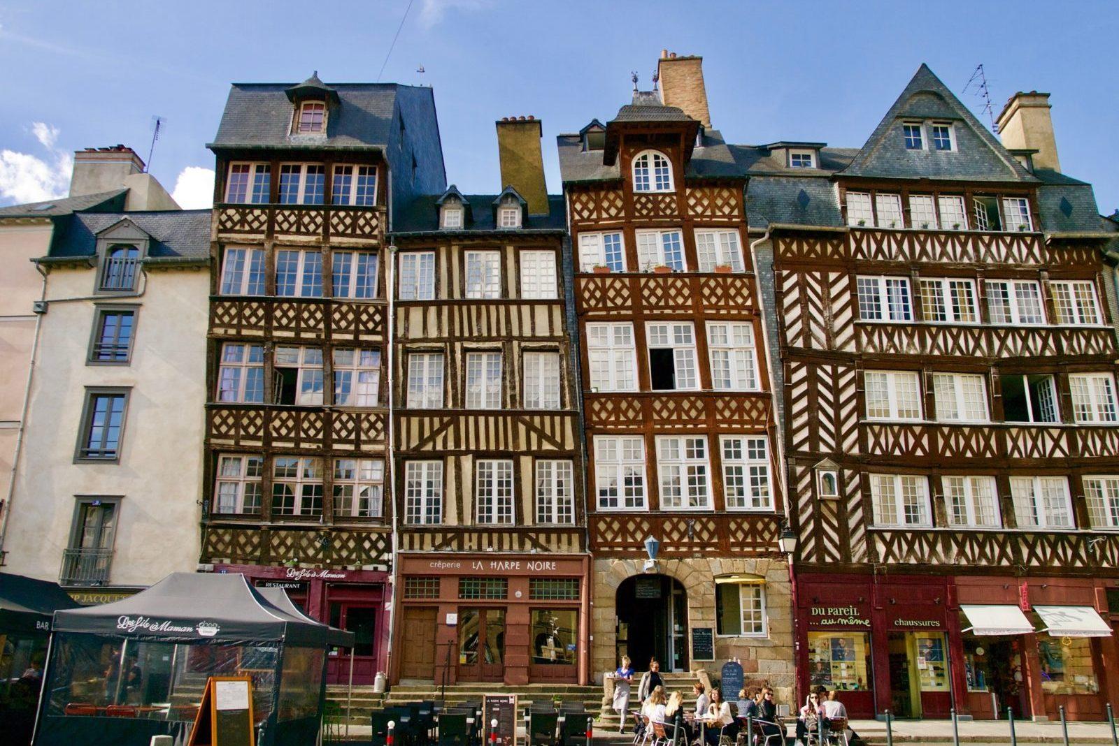 Город Ренн, Франция
