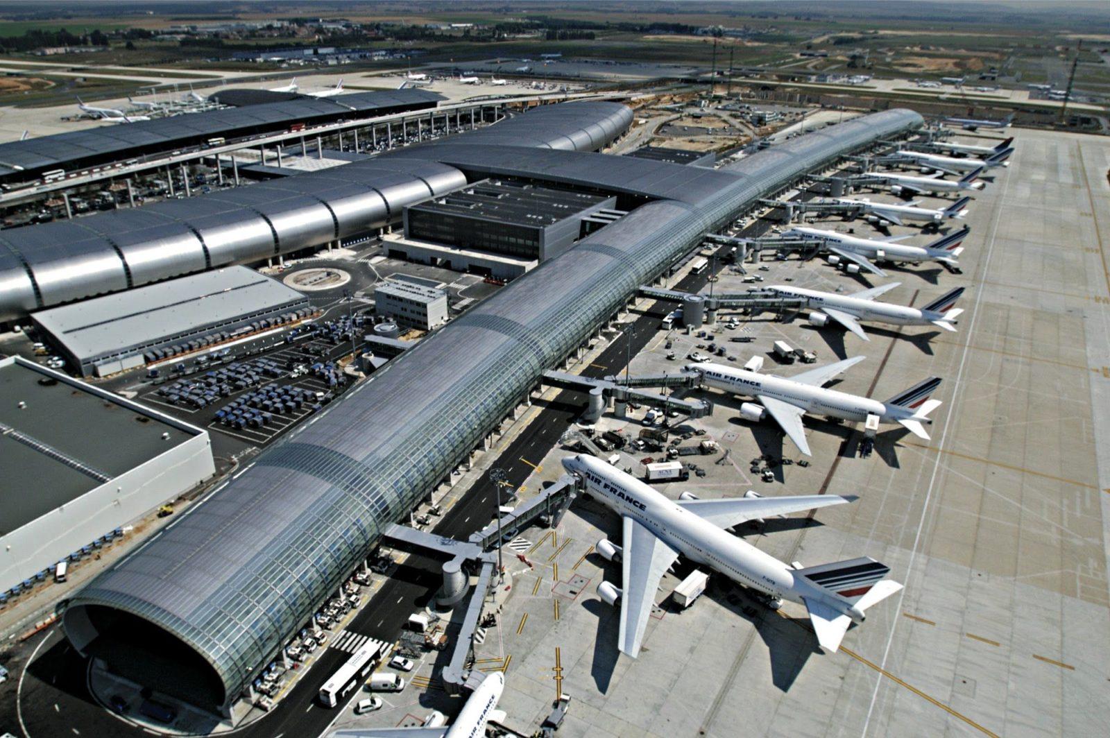 Аэропорт Париж Шарль де Голль