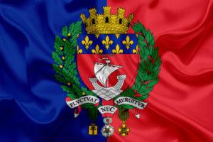 Герб Парижа фото
