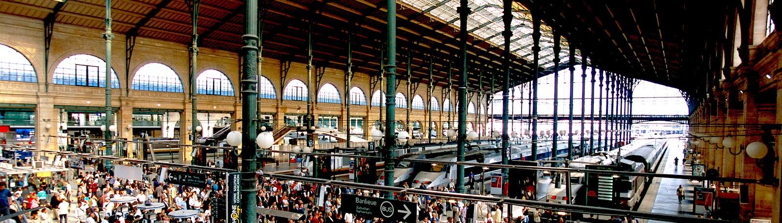Вокзал Сен-Лазар в Париже