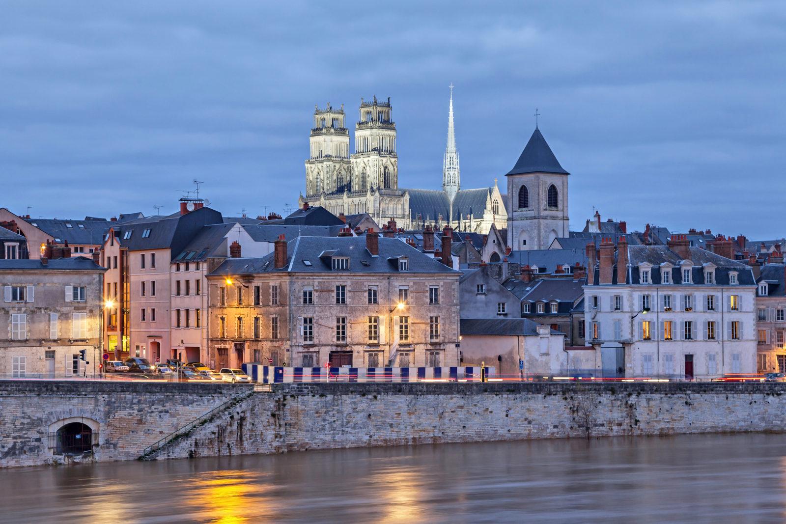 Город Орлеан, Франция
