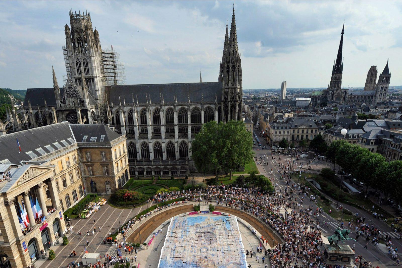 Город Руан, Франция