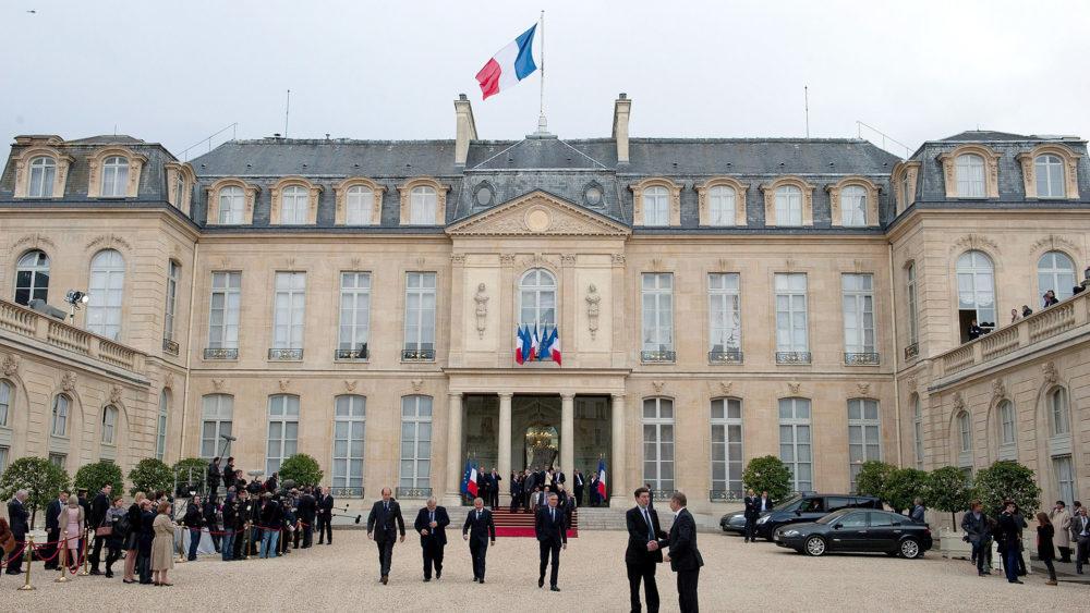 Елисейский дворец Париж фото