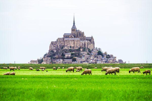 Мон Сен-Мишель, Франция