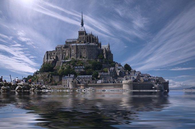 Мон Сен-Мишель, Нормандия