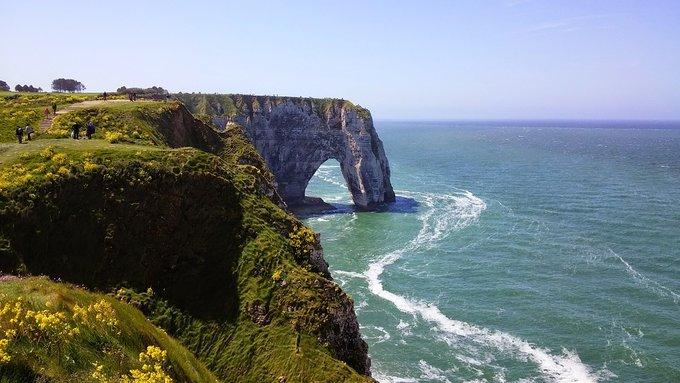 Скалы Этрета, Нормандия