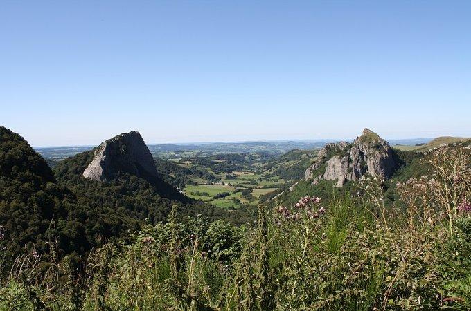 Вулканы Оверни, Рона-Альпы