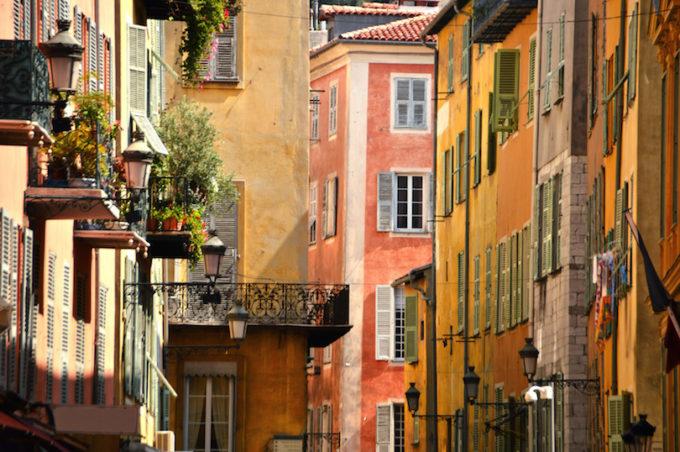 Старая Ницца, Французская Ривьера