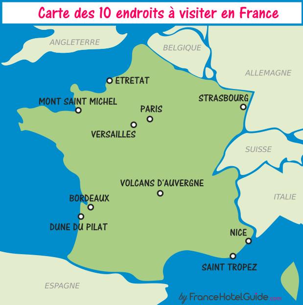 10 лучших мест во Франции