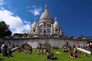 Базилика Сакре-Кёр Париж фото