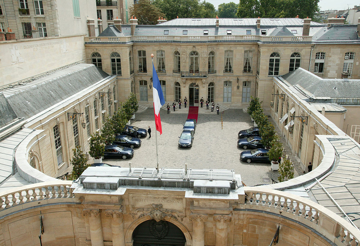 Матиньонский дворец, Париж