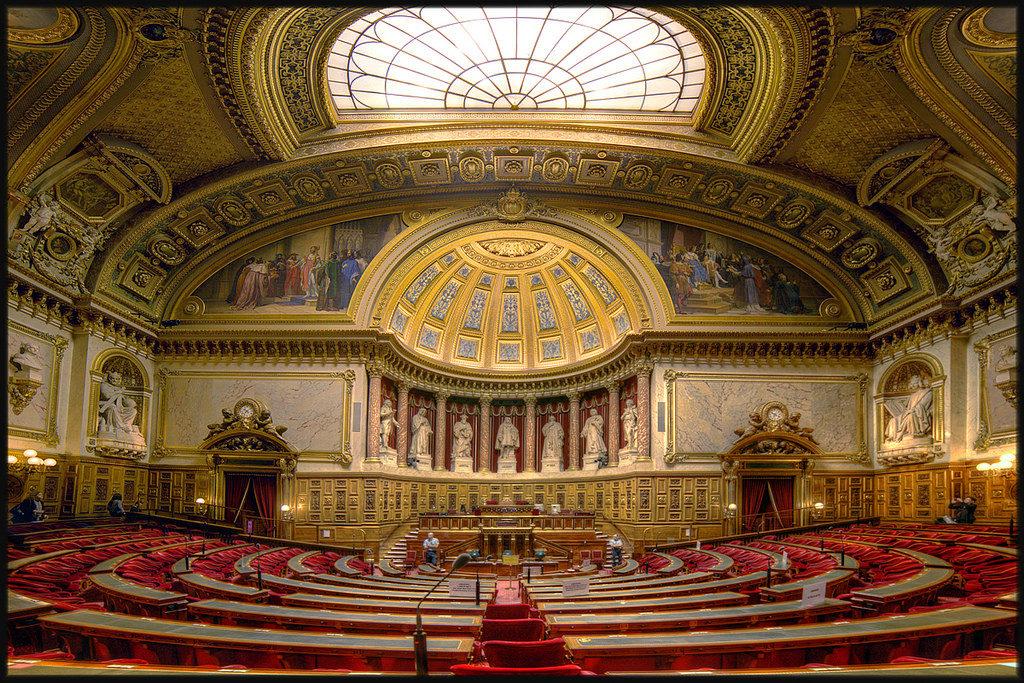 Люксембургский дворец внутри