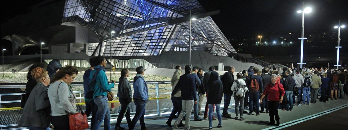 Ночь музеев в Париже 2019