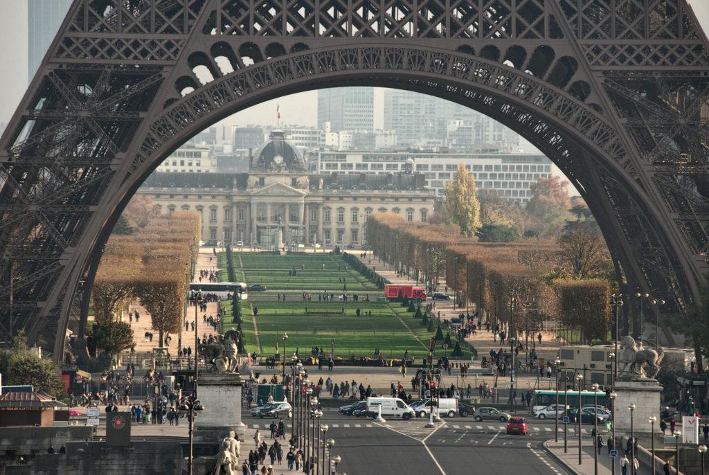 Марсово Поле, Париж