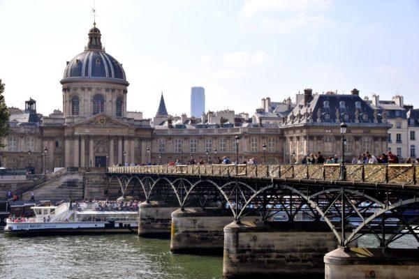 Париж Мост Искусств фото