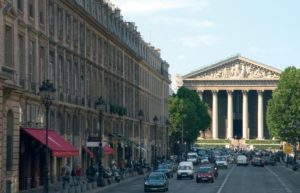Площадь Мадлен в Париже