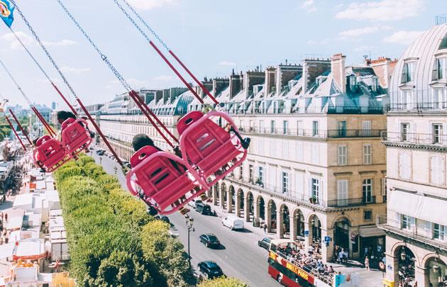 Развлечения для детей в Париже