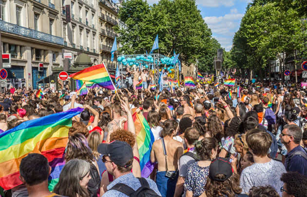 Гей-парад в Париже 2019