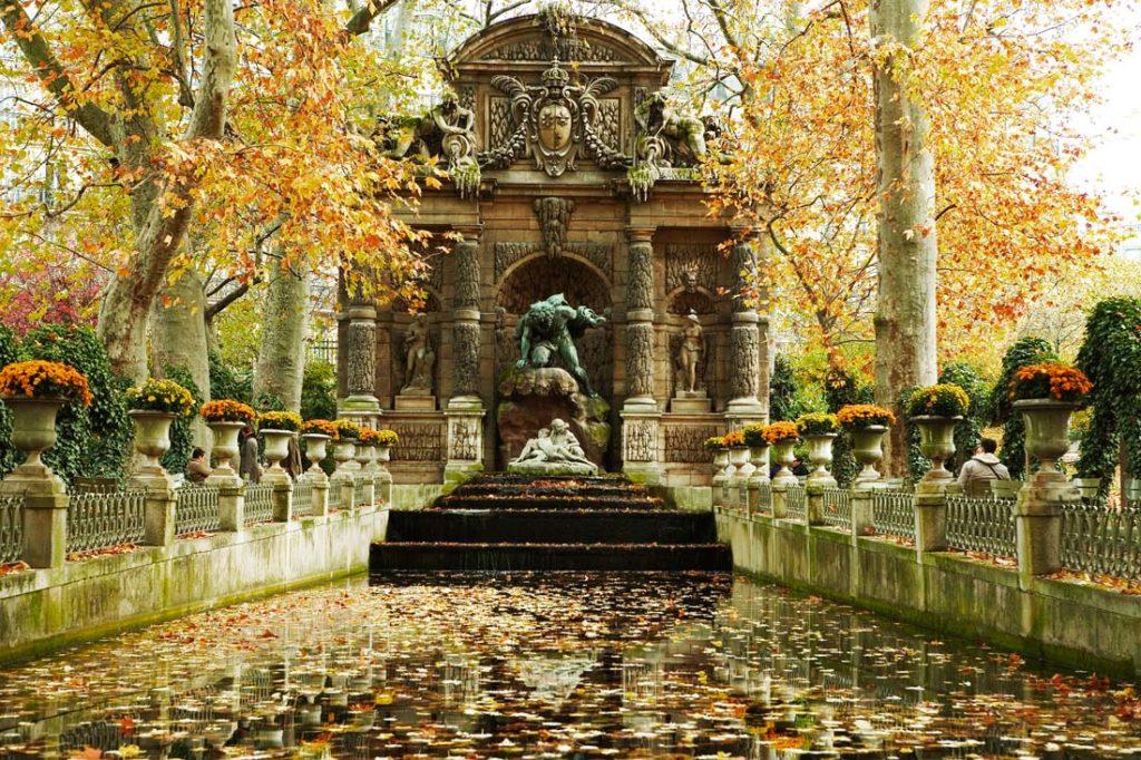 Люксембургский сад, Фонтан Медичи