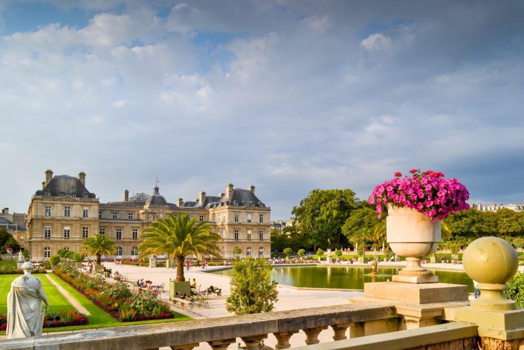 Люксембургский сад фото