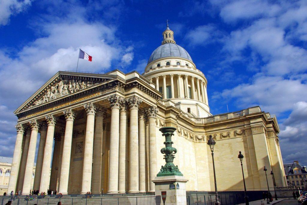 Пантеон в Париже фото