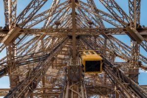 Лифт в Эйфелевой башне