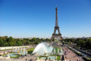 Площадь Трокадеро в Париже