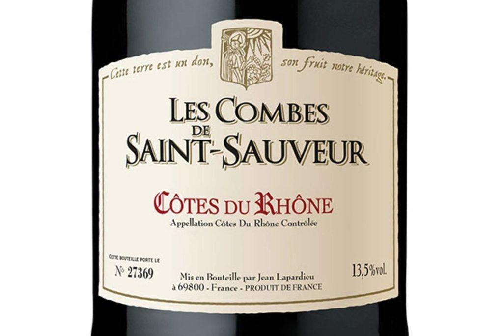 Этикетка французского вина фото
