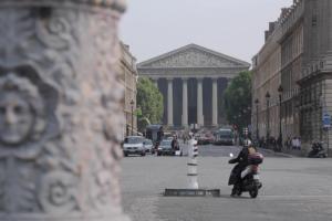 Площадь Мадлен в Париже фото