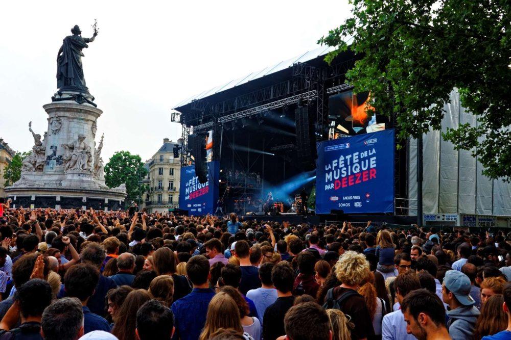 Концерты в Париже в мае и июне 2019