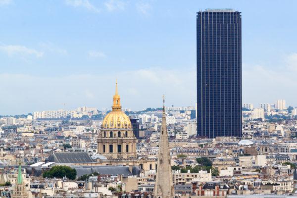 Башня Монпарнас Париж фото
