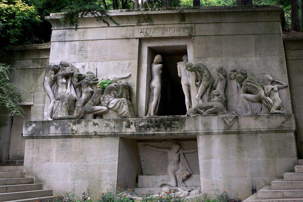 Кладбище в Париже Пер-Лашез фото