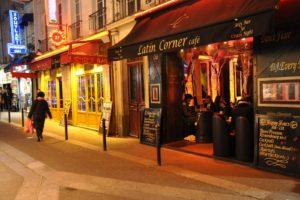 Латинский квартал Париж фото