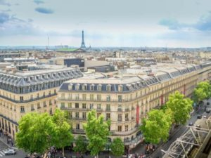 Бульвар Осман в Париже