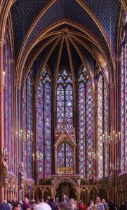 Часовня Сен-Шапель в Париже