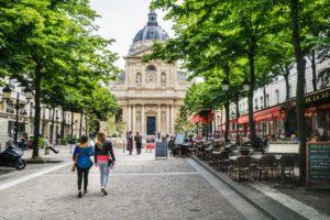 Латинский квартал в Париже фото