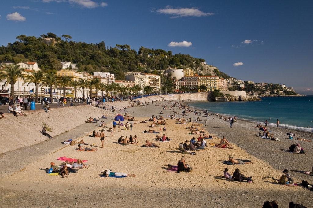 Песчаные пляжи Ниццы