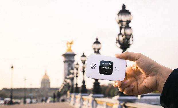 Портативный Wifi во Франции